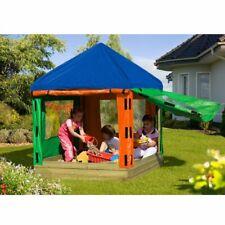 Sandkasten Toni aus Holz mit Dach / Kinder-Pavillon von Gartenpirat TÜV-geprüft