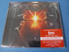 TEN - HERESY AND CREED CD + BONUS TRACK $2.99 S&H