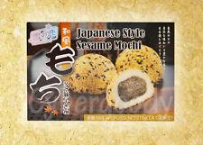 Japanese Style Daifuku Mochi Sesame Rice Cake Snack dessert delicious