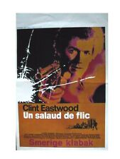 DIRTY HARRY - CLINT EASTWOOD -  AFFICHE DE CINEMA BELGE - BELGIUM MOVIE POSTER