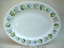 Minton Spring Valley Pattern 1st Quality Oval Serving Platter 35cm Looks in VGC