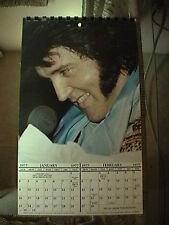 Ultra Rare Original Vintage 1977 Elvis Presley Calendar