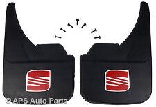 Universal Car Mudflaps Front Rear Seat Logo Leon Malaga Marbella Mud Flap Guard