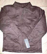 NEW 3 PIECE SET KENNETH COLE JACKET SHIRT PANTS 6 BROWN