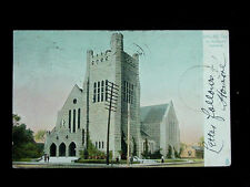 1907 St. Matthew's Cathedral Dallas TX post card Tuck