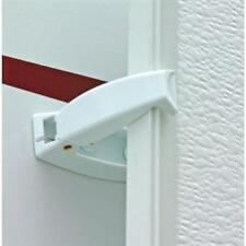 PAIR of NEW Baggage Door Catches for RV / Trailer / Motorhome (Polar White)