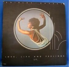 SHIRLEY BASSEY LP RECORD, LOVE LIFE AND FEELINGS