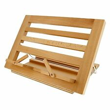 Book Stand Wood Holder Wooden Folding Recipe Cookbook Table Bible Rack Easel New