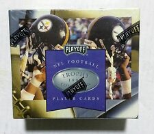 1996 Playoff TROPHY CONTENDERS Football card box Factory Sealed contains 24pks