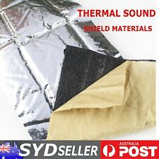 Sound Deadener Auto Insulation Heat Thermal Barrier Body Panels Foam Mat 38Sqft