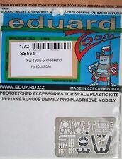 Eduard 1/72 SS564 Colour Zoom etch for Eduard Focke Wulf Fw190A-5 kit