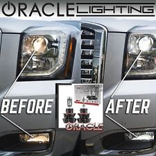 ORACLE H13 9008 Hi/Lo LED Headlight Bulbs (Pair) - 4,000 Lumen - White 6000k
