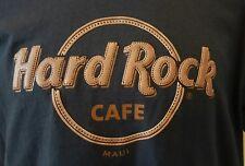 HARD ROCK CAFE MAUI EMBOSSED AUTHENTIC 3D LOGO LETTERING T-SHIRT SIZE - LARGE