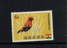 Ghana 1959 6d Red crowned Bishop Bird MNH Sc 55 SG 220