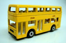 Matchbox Superfast No. 17C London Bus Pre-production model in yellow No.50 base
