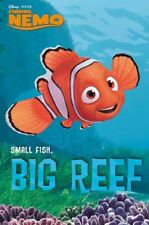 Nemo Small fish big reef Disney poster