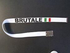 MV  Gürtel Brutale Original  weiß