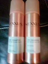Nexxus Clean And Pure Unscented Dry Shampoo Lot of 2 - 5 oz. Each