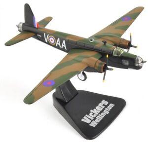 Vickers Wellington 1/144 Atlas Avion Militaire Miniature Aircraft MG05