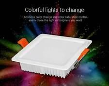 LED Panel Mi Light 9W RGB W CCT Steuerung 720lm  fut064 Lampe Deckenleuchte