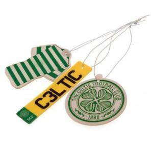 Glasgow Celtic Football Club 3Pk Triple Car Air Freshener Freshner GCFC SFA