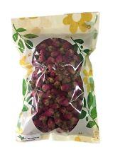 HerbsGreen Premium Dried Red Rose Buds, 100% Natural (4 oz. Bag)
