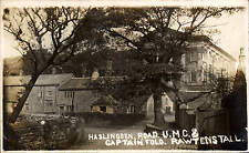 Rawtenstall. Haslingden Road United Methodist Church & Captain Fold.