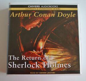 The Return of Sherlock Holmes: Arthur Conan Doyle - Unabridged AudioBook - 10CDs