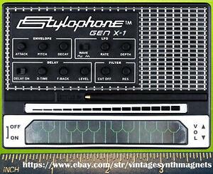Stylophone GenX1 Gen R-8 Synthesizer Refrigerator Magnet