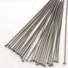 25 headpins (kettelstifte) negro 5cm aprox.