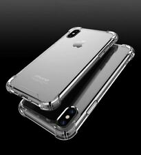 Shockproof 360 Hybrid Silicone Case Cover for Apple iPhone X 8 7 6s Plus Clear Phone 5 5s