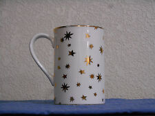 Galaxy Fine Porcelain by Sakura Mug Cup Made in Indonesia 14k Gold