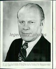 1960's Gerald R. Ford Original Photo