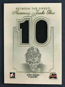 MARC-ANDRE FLEURY 2011-12 BETWEEN THE PIPES ANNIVERSARY JUMBO GLOVE 11-12  47487
