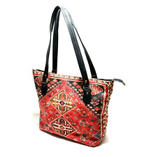 New Women's Leather Velvet Handbag Shoulder Messenger Satchel Purse Carpet bag