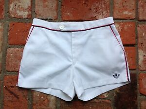 """RARE VINTAGE ADIDAS TENNIS SHORTS - SIZE 30 """" WAIST - WEST GERMANY BY HOAL"""