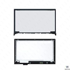 "15,6"" Touch LCD Screen Assembly Display Digitizer+Rahmen für Lenovo Flex 2-15"