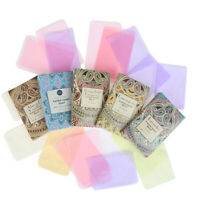 Outdoors Travel Soap Paper Washing Hand Bath Clean Scented Slice Mini Paper F_5