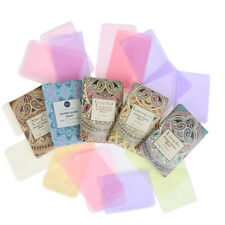 Outdoor Travel Soap Paper Washing Hand Bath Clean Scented Slice Mini Paper Soap