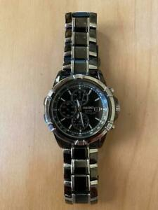 Seiko Analogue Quartz Solar Chronograph Watch V172-AJ0
