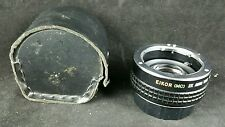 EIKOR (MC) 2X Auto Tele converter, Pentax PK Fit, in case with rear cap
