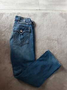 Mens True religion jeans section Ricky big T seat 34 L33