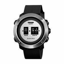 Skmei Wasserdicht Sport Uhr LED Quarz Analog Digital Armbanduhren Neu