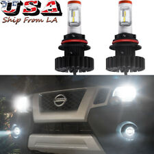 2x 6000K White 160W LED High/Low Beam Headlight Bulbs For Nissan Frontier Xterra