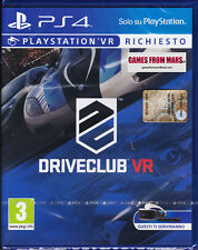 DRIVECLUB VR PS4 / Playstation 4 VR / NUOVO ITALIANO
