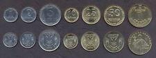 UKRAINE COMPLETE FULL COIN SET 1+2+5+10+25+50 Kopeek +1 Hryvnia UNC LOT of 7
