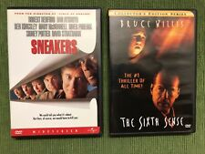 ✳� Sneakers + The Sixth Sense �� 2 Dvd Set ��