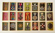 *21 World war foundations Medal Cards Prussia Bavaria Unhalt Meldenburg Baden