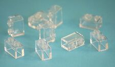 9x lego ® 3065 piedras bloques de creación 1x2 transparente bricks pieces parts trans Clear
