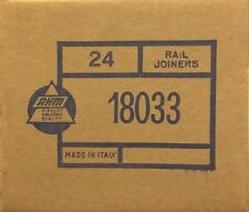 AHM 18033 HO steel rail joiners box of 24 packs